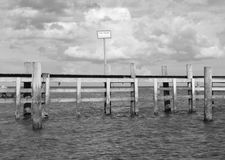 Мост гребли Стоковые Изображения