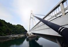 Мост где никто в Японии стоковое изображение