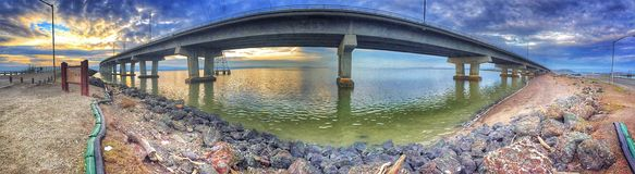 Мост Дамбартона стоковое фото rf