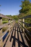 мост деревянный стоковое изображение