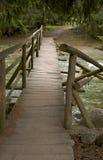 мост деревянный Стоковые Фотографии RF