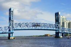 Мост Джексонвилла городской Стоковые Фотографии RF
