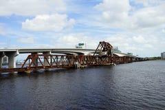 Мост Джексонвилла городской Стоковые Изображения
