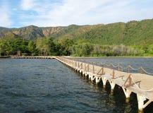 мост длиной Стоковая Фотография RF