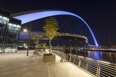 Мост допуска в городе Дубай стоковое фото rf
