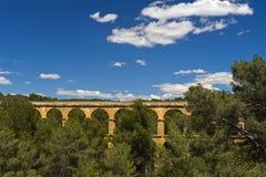 Мост дьявола, Таррагона, Каталония, Испания стоковые фотографии rf