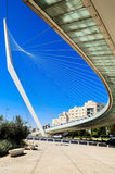 Мост Дэвида в Иерусалиме Стоковые Фото