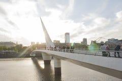Мост женщины Стоковые Изображения