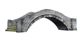 Мост заболоченного рукава реки парка города Нового Орлеана Стоковое Фото