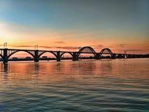 мост загадочный Стоковое Изображение RF