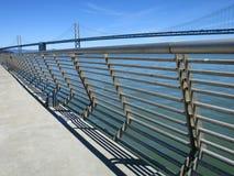 Мост залива Окленд стоковое фото