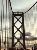 Мост залива стоковые фотографии rf