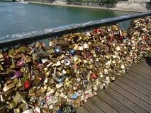Мост замка влюбленности Стоковое Изображение RF