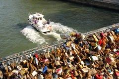 Мост замка влюбленности Стоковые Изображения