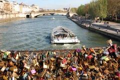 Мост замка влюбленности Стоковая Фотография