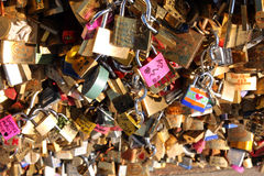 Мост замка влюбленности Стоковые Фотографии RF