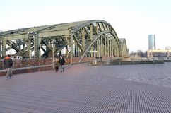 Мост замка влюбленности!! Стоковое фото RF