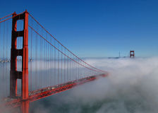 Мост залива Стоковое Изображение RF