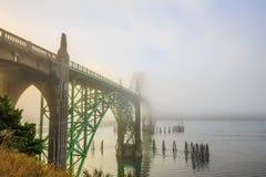 Мост залива Yaquina Стоковое Изображение