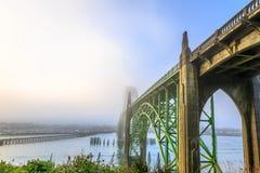 Мост залива Yaquina Стоковое фото RF