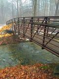 Мост зимы Стоковые Фото