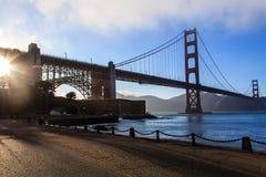 Мост золотистого строба стоковое фото