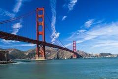 Мост золотистого строба Стоковая Фотография