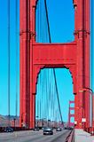 Мост золотистого строба, San Francisco, Соединенные Штаты Стоковые Изображения