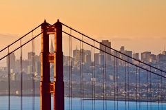Мост золотистого строба, San Francisco Стоковые Фото