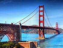 Мост золотого строба Сан-Франциско, Калифорния стоковые изображения
