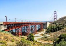 Мост золотого строба - Сан-Франциско, Калифорния, CA Стоковая Фотография RF