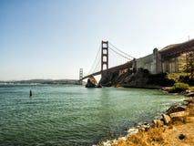 Мост золотого строба - Сан-Франциско, Калифорния, CA Стоковое Фото
