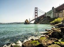 Мост золотого строба - Сан-Франциско, Калифорния, CA Стоковое фото RF