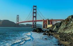 Мост золотистого строба Стоковые Изображения