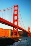 Мост золотого строба и Ft Ross Стоковые Фотографии RF