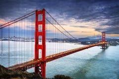 Мост золотого строба, Сан-Франциско стоковые фотографии rf