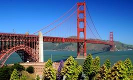 Мост золотого строба Стоковая Фотография RF