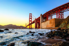Мост золотого строба Стоковые Изображения RF