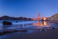 Мост золотого строба Стоковые Изображения