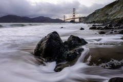 Мост золотого строба, SF Стоковое Фото