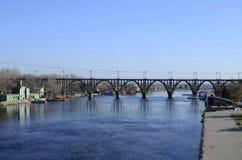 Мост игрушки Стоковая Фотография RF