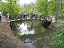 мост длиной стоковая фотография