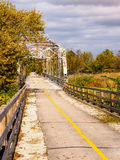 мост исторический стоковая фотография