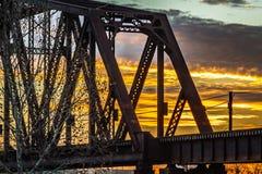 Мост лифта Стоковое Изображение RF
