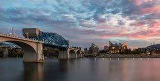 Мост и аквариум улицы рынка Стоковое фото RF