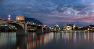 Мост и аквариум улицы рынка Стоковое Изображение
