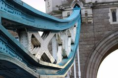 Мост и боковая линия стоковые фото