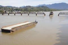 Мост и гуж качания Стоковое Изображение RF
