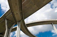 Мост и небо Стоковые Фотографии RF