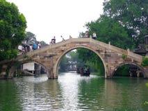 Мост камня Wuzhen Стоковые Фотографии RF